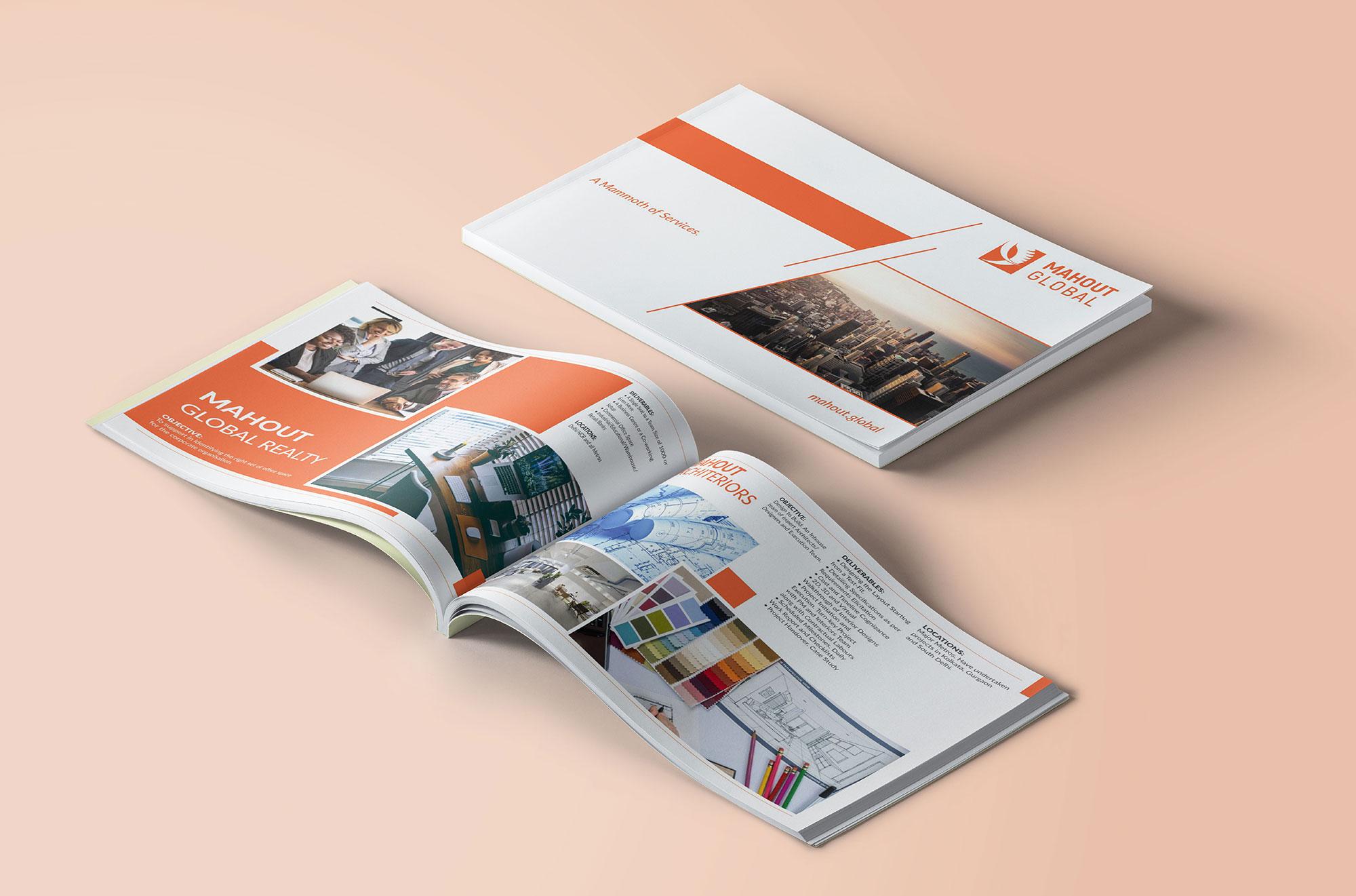 Mahout Global Brochure Design