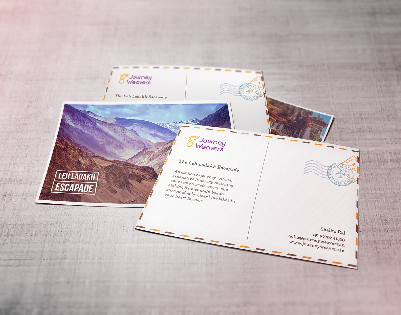 Stationery Design Journey Weavers